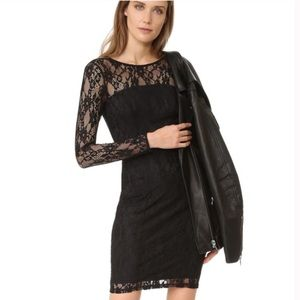 Ali & Jay Lace Black Long Sleeve Dress